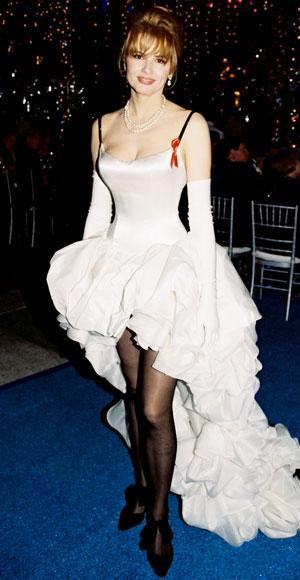 Geena Davis's 1992 Oscar gown