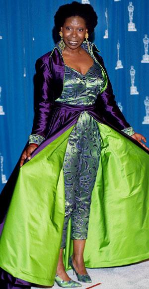 Whoopi Goldberg's Oscar dress for the 1993 Oscars
