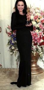 Angelina Jolie's 2000 Oscar gown