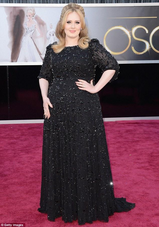 Adele's 2013 Oscar gown