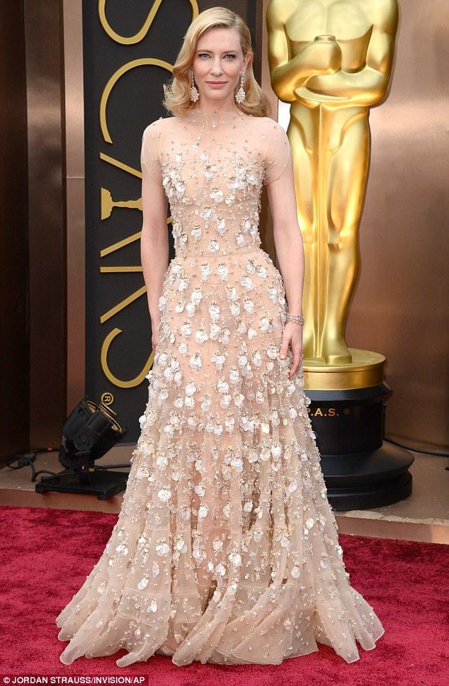 Cate Blanchett's 2014 Oscar gown