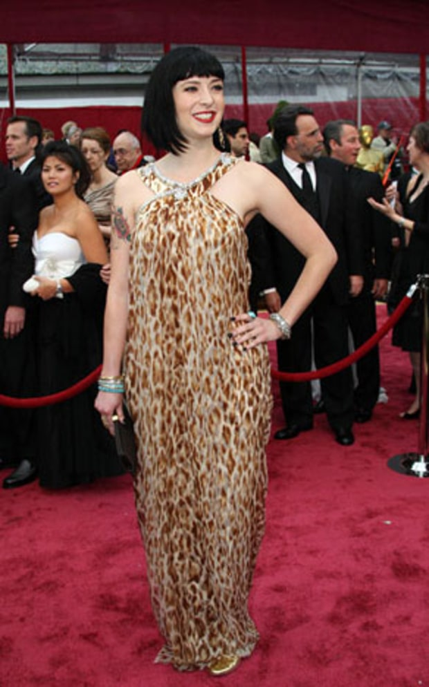 diablo cody leopard dress