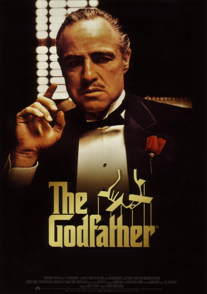 The Godfather poster with Marlon Brando