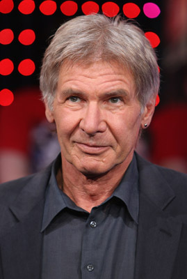 Harrison Ford in black suit