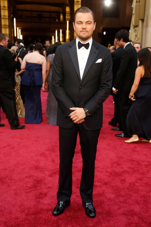 Leonardo DiCaprio at the 2014 Oscars