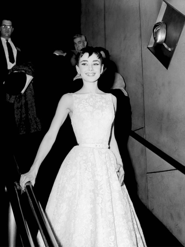 Audrey Hepburn's 1954 Oscar gown