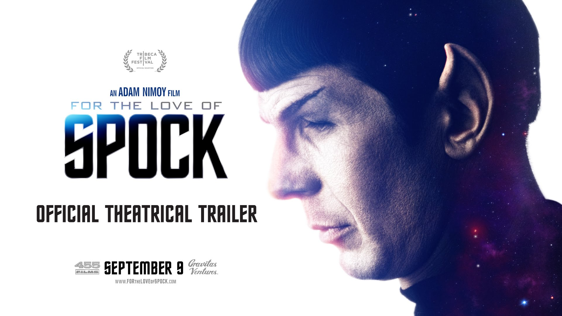 For the Love of Spock movie cover