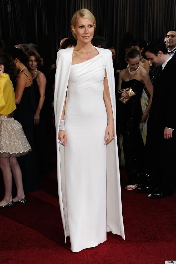 Gwyneth Paltrow's 2012 Oscar gown