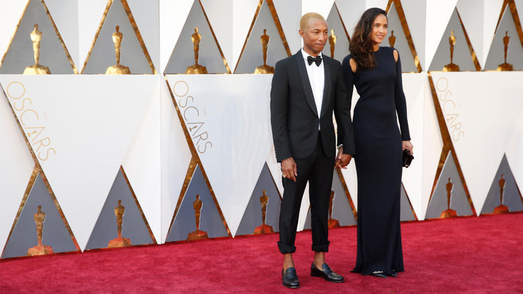 Pharrell Williams at 2016 Oscars