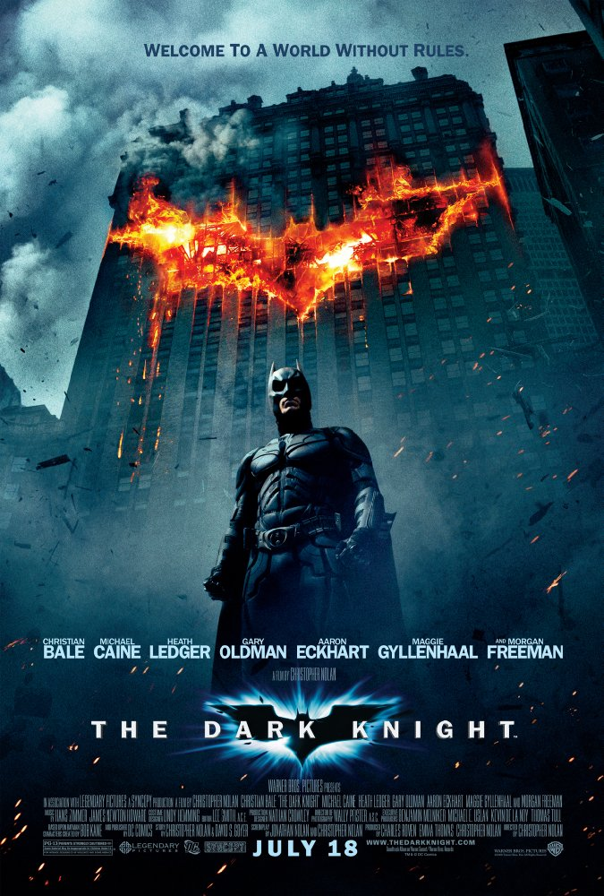 the dark knight theatrical poster