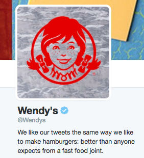 Wendy's tweet screenshot
