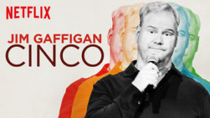 Jim Gaffigan's latest stand-up comedy special: Cinco
