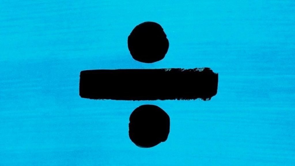 "Ed Sheeran ""Divide"" album cover"